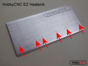 HobbyCNC EZ heatsink HobbyCNC for DIY CNC, DIY CNC router, DIY CNC Mill, DIY robot control. Low cost high performance stepper driver.
