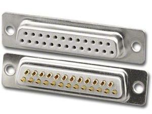 HobbyCNC 25 pin D Female Solder connector