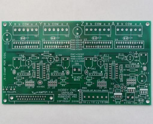HobbyCNC PRO Board. DIY CNC Router, DIY CNC Mill, DIY CNC
