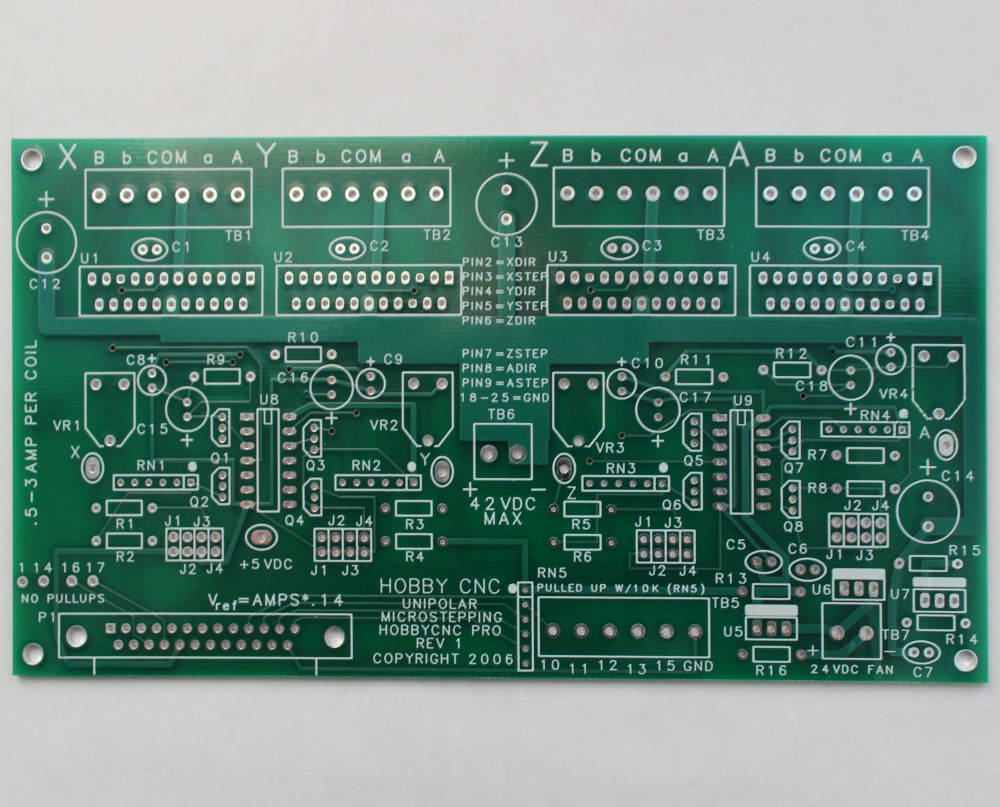 Hobbycnc Pro Kits Power Supply For Stepper Motor Drive A May Board Diy Cnc Router Mill Controller
