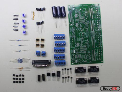 HobbyCNC PRO Stepper Motor Controller board for DIY CNC Router, DIY CNC Mill, DIY CNC Lathe, Homemade CNC, DIY CNC Router electronics, DIY CNC Mill electronics, DIY CNC Lathe electronics
