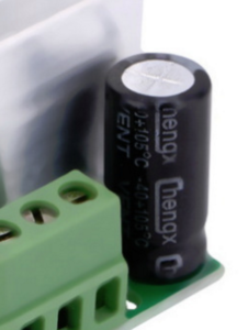 Figure 2 - Cheap, crap electrolytic capacitor