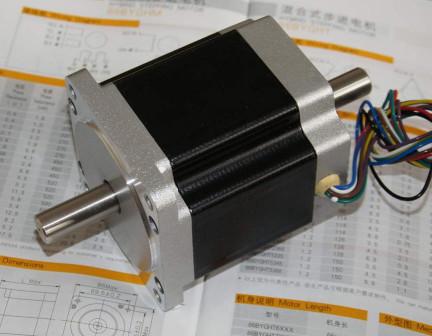 Hobbycnc for Double shaft stepper motor